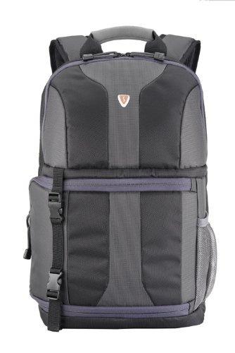 Sumdex Foto-Rucksack mit Notebookfach bis 38,1 cm (15 Zoll) schwarz