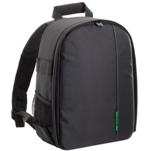 Rivacase – Hochwertiger Kamera- Fotorucksack, optimaler Schutz für Ihre SLR Kamera / Ausrüstung – schwarz