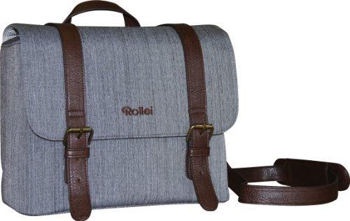 Rollei DSLR Vintage Tasche – Design Kameratasche für Spiegelreflexkamera – Grau