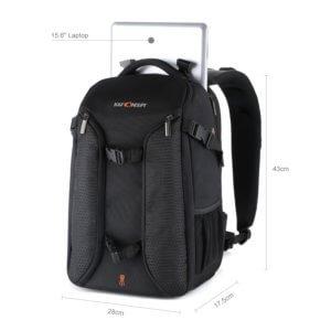 Tabletfach Kamerarucksack Laptopfach Fotorucksack