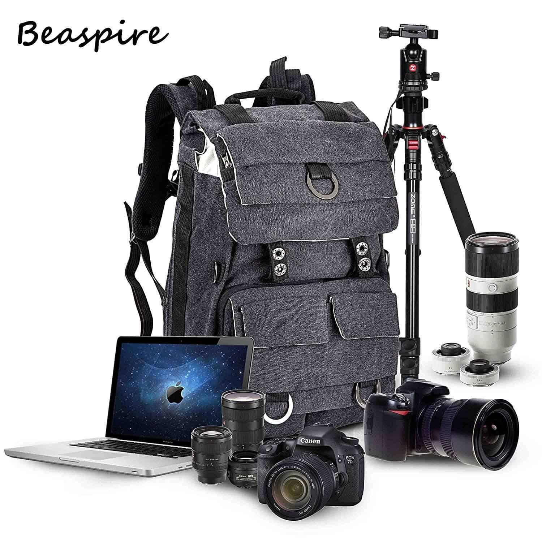 Beaspire Kamera-Rucksack Fotorucksack SLR Rucksack